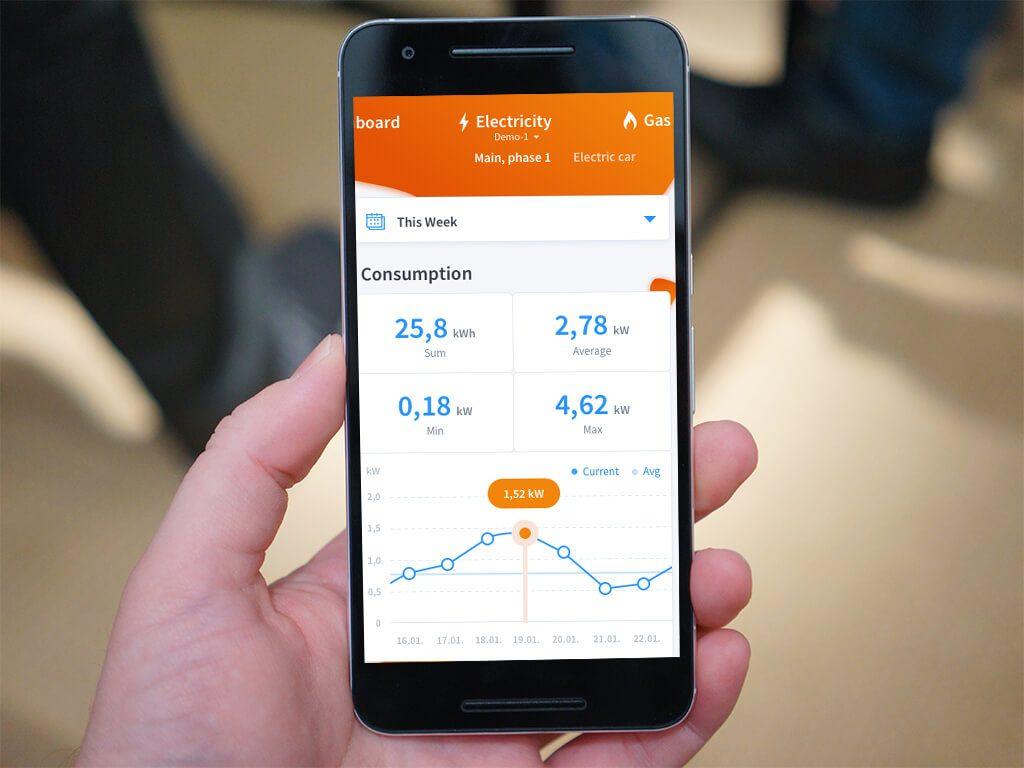 Energomonitor Energiemanagement App