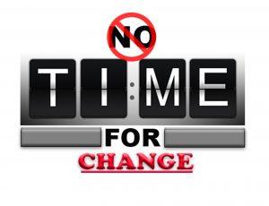 Keine Zeit für Veränderung im Unternehmen