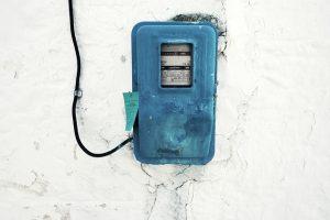 defekter Stromzähler