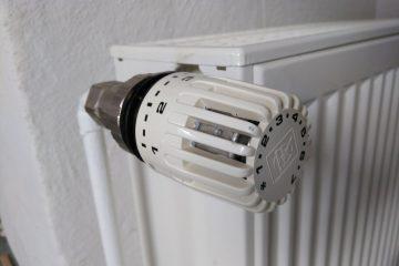 Was bedeuten die Striche und Zahlen auf dem Heizungs- Thermostat