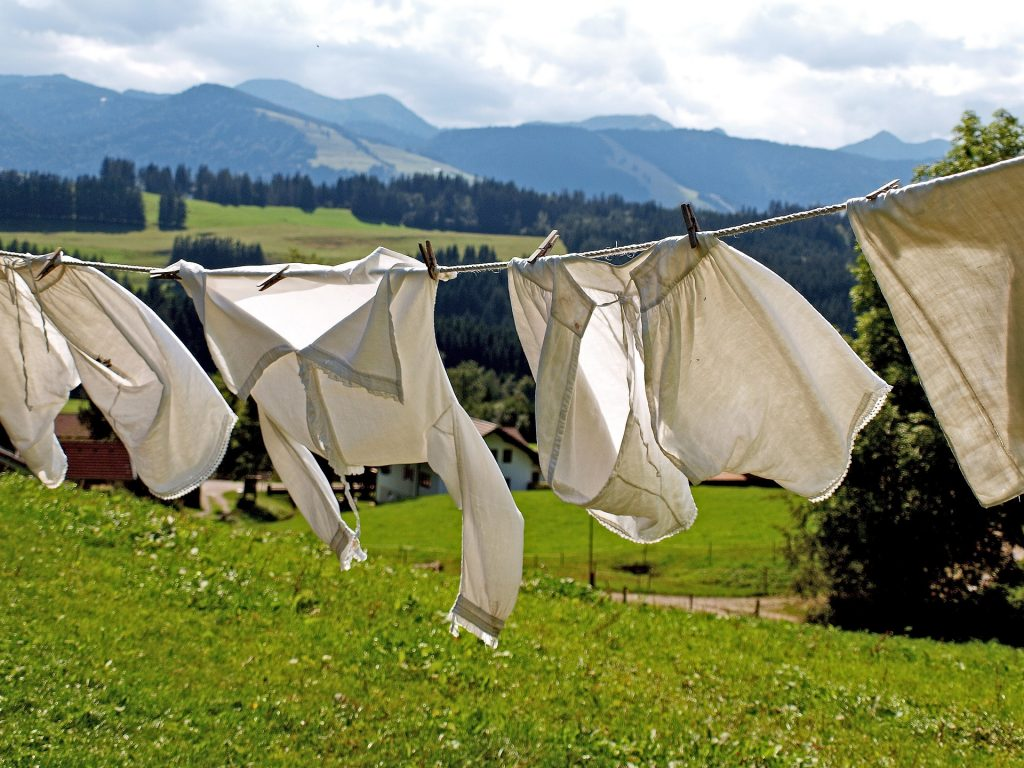 Strom sparen beim Wäsche trocknen